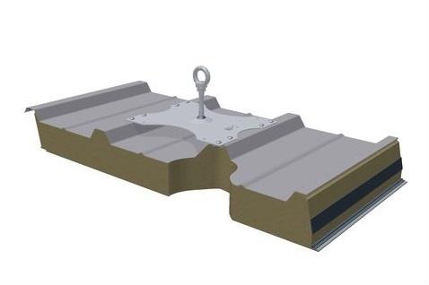 point d 39 ancrage toiture terrasse bac acier zinc eusaftey. Black Bedroom Furniture Sets. Home Design Ideas
